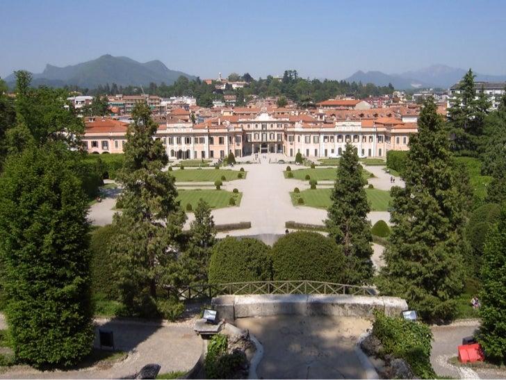 Un pernottamento con booking online a Varese consente di conoscere il Palazzo Estense e i suoi giardini
