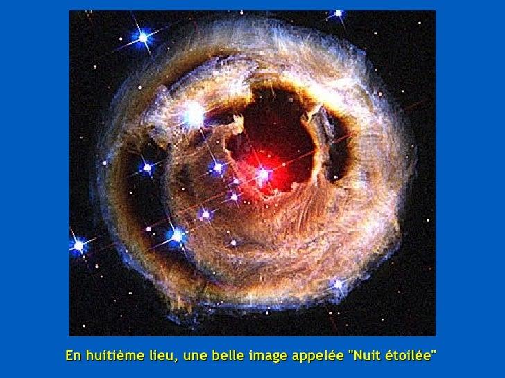 """En huitième lieu, une belle image appelée """"Nuit étoilée"""""""