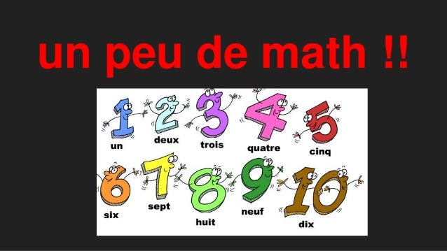 un peu de math !!