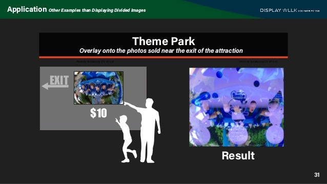 31 Application Other Examples than Displaying Divided Images EXIT $10 Theme Park Photo by Ted Murphy (CC BY 2.0) Photo by ...