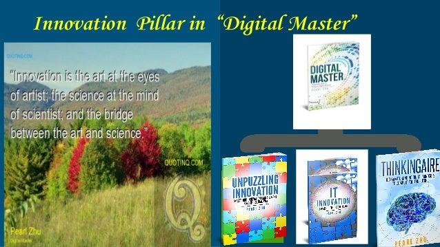 """Innovation Pillar in """"Digital Master"""""""