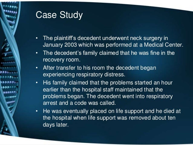 case study in nursing This pediatric simulation and unfolding case study takes place in the nursing learning resource center and is scheduled early in the nursing care of children and adolescents course.