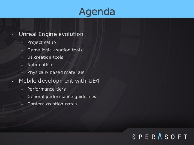 Unreal Engine 4 Introduction