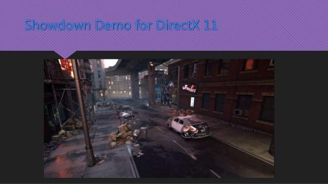 Showdown Demo for DirectX 11