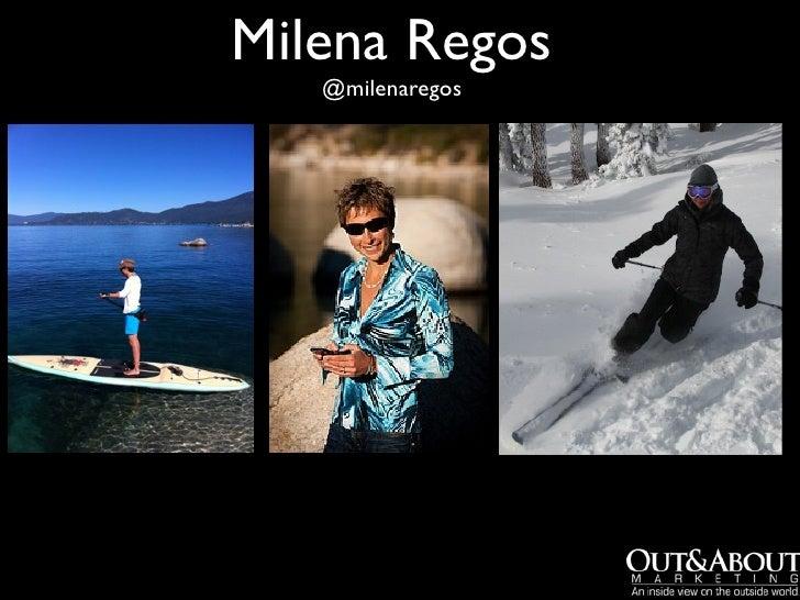 Milena Regos   @milenaregos
