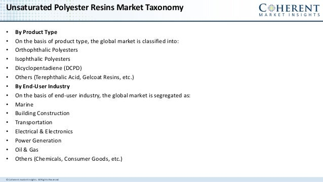 Unsaturated Polyester Resins Market - Global Industry Insights, Trends, Outlook, and Opportunity Analysis, 2016-2024 Slide 3