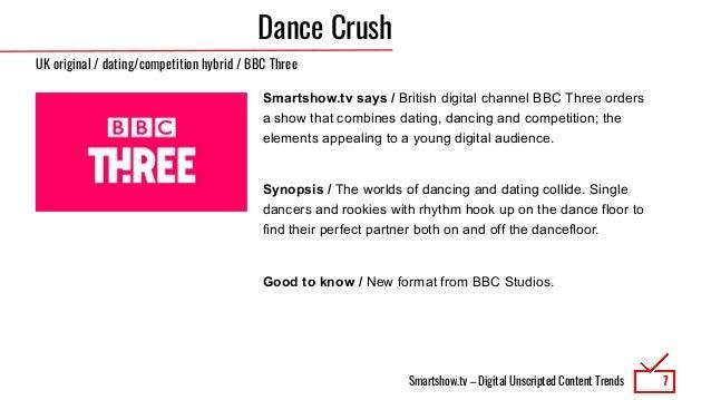 Smartshow.tv – Digital Unscripted Content Trends Dance Crush Smartshow.tv says / British digital channel BBC Three orders ...