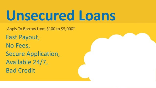 Unsecured Bad Credit Loans >> Bad Credit Loans Installment Loans Canada Unsecured Loans