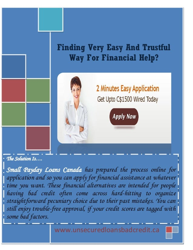 Consumer payday loans image 2