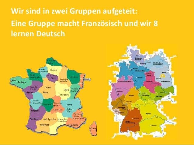 Wir haben drei Stunden Deutsch in der Woche . Wir haben dieses Jahr gelernt, uns auf Deutsch vorzustellen.