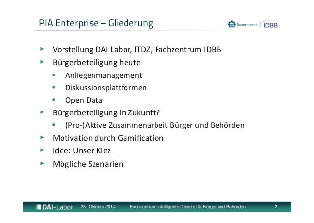 Gamification - Unser Kiez Idee Slide 2