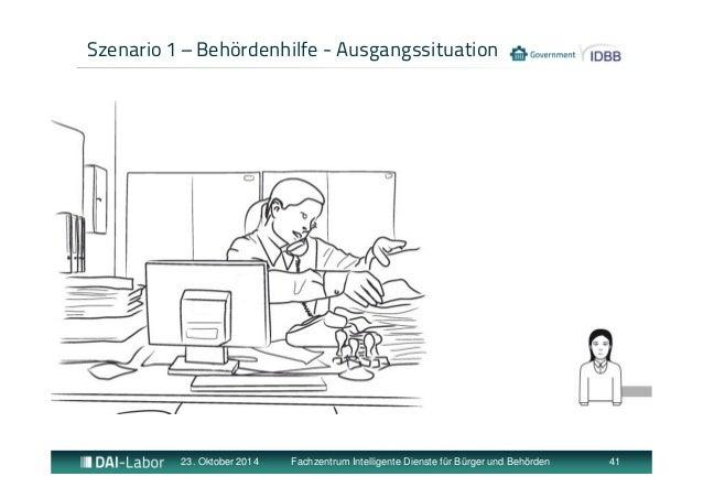 Szenario 1 – Behördenhilfe - Ausgangssituation  23. Oktober 2014 Fachzentrum Intelligente Dienste für Bürger und Behörden ...