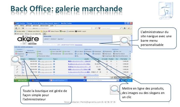 Back Office: galerie marchande                                                                                            ...