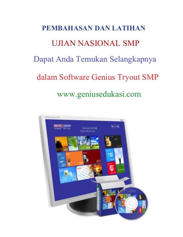 Download Soal Un Bahasa Indonesia Smp 2010 2011