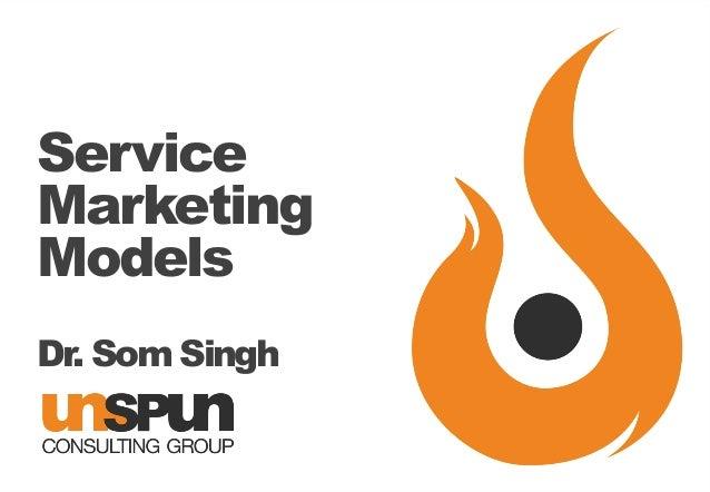 Service Marketing Models Dr. Som Singh