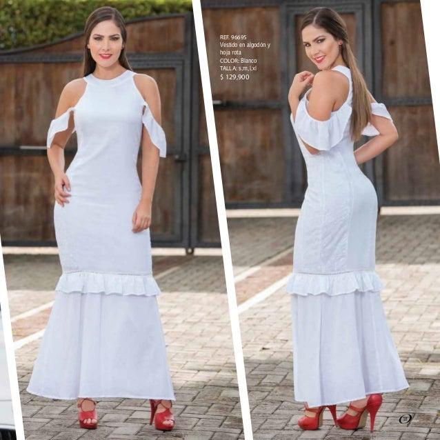 Vestidos blancos en lino olan