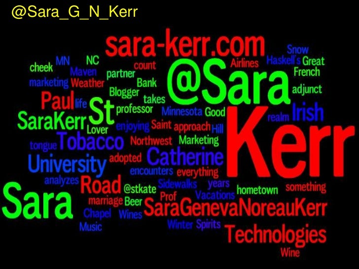 6/18/11<br />© St. Catherine University<br />1<br />@Sara_G_N_Kerr<br />