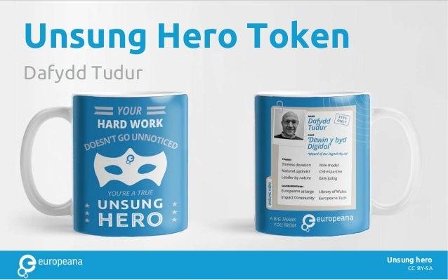 CC BY-SA Unsung Hero Token Dafydd Tudur Unsung hero