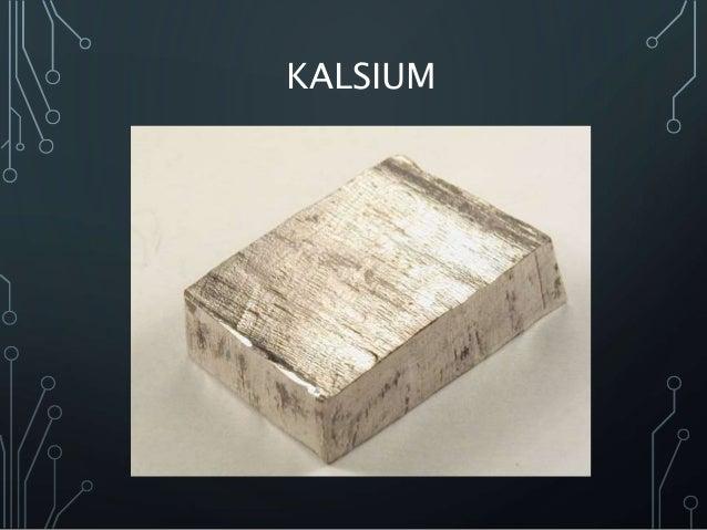 Unsur golongan ii a (logam alkali tanah