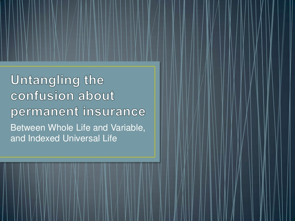 What is the difference between Whole Life and Indexed Universal Life for Retirement