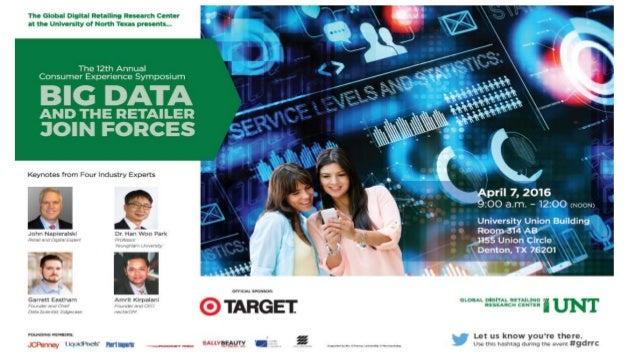 Unt consumer big data (30 march2016) Slide 2