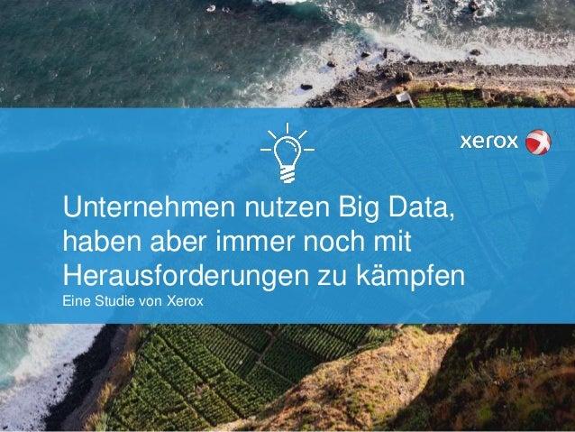Unternehmen nutzen Big Data, haben aber immer noch mit Herausforderungen zu kämpfen