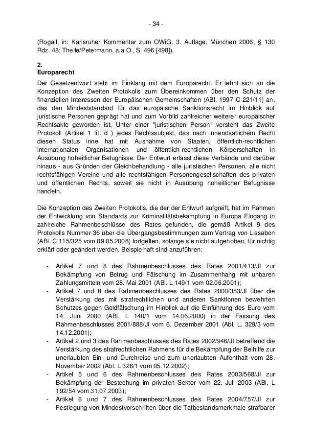 unternehmensstrafrecht in deutschland beratung und pr u00e4vention