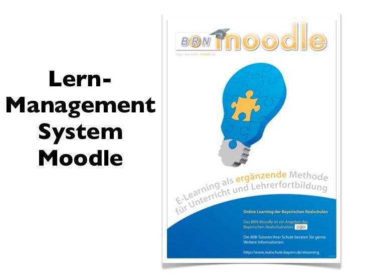 Lern-Management  System  Moodle