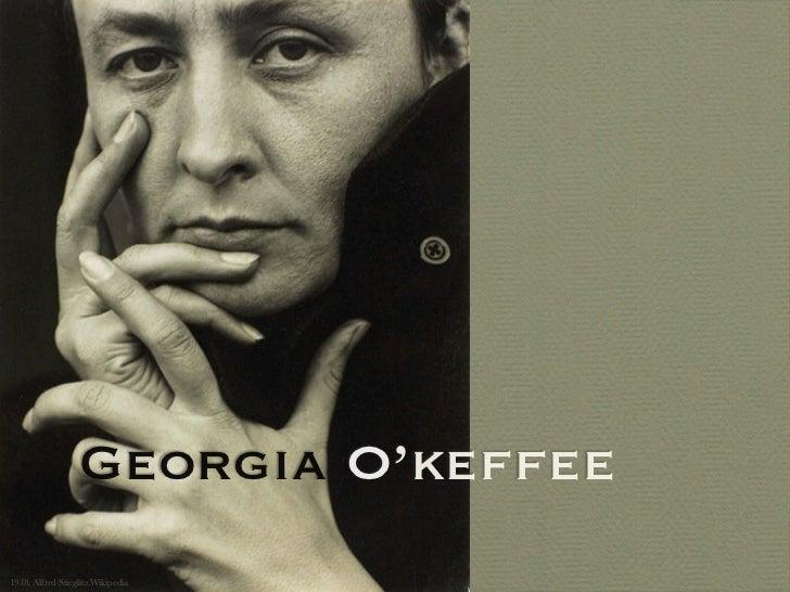 Georgia O'keffee1918, Alfred Stieglitz Wikipedia