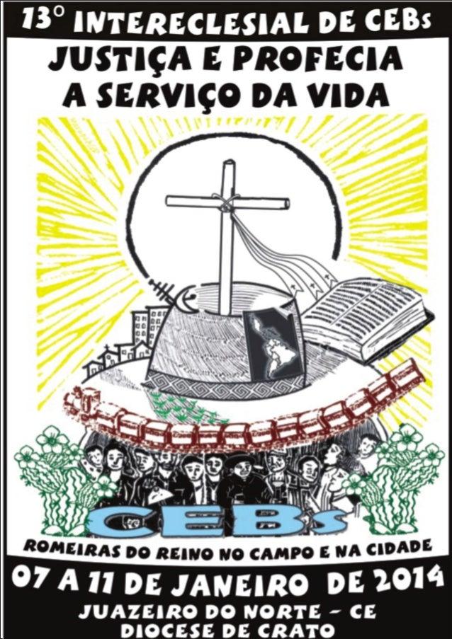 Cartaz do 13º Intereclesial das CEBs