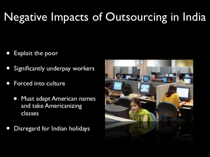 impact of outsourcing on profitability