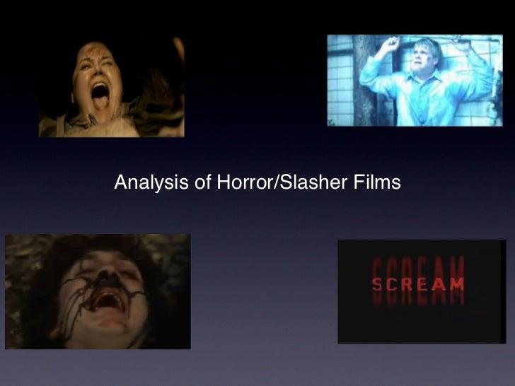 Analysis of Horror/Slasher Films