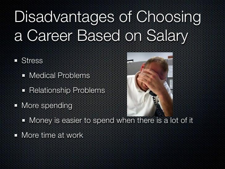 what factors should i consider when choosing a career essay