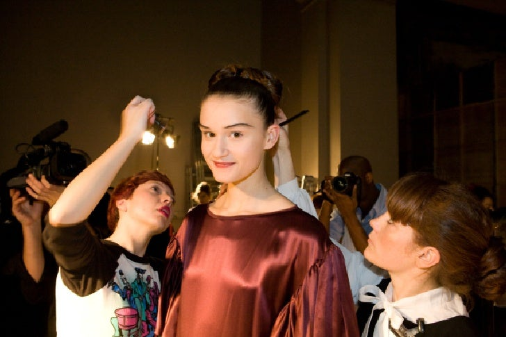 L'Oreal, Roksanda Illincic fashion show at V&A