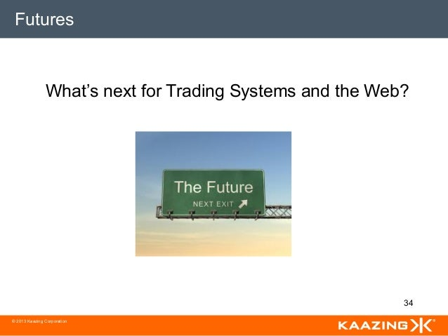 A web-based financial trading system