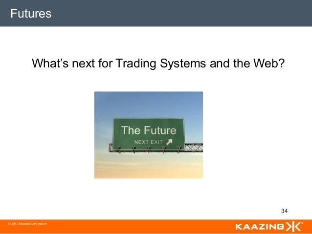 Web based online trading system