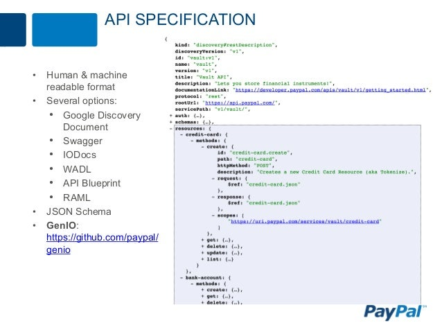 Redesigning paypal apis for scale and simplicity api specification malvernweather Choice Image