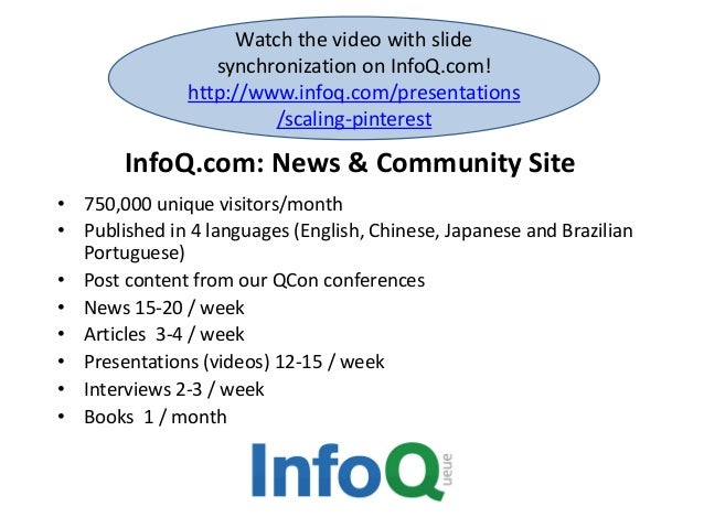 Watch the video with slide synchronization on InfoQ.com! http://www.infoq.com/presentations /scaling-pinterest  InfoQ.com:...