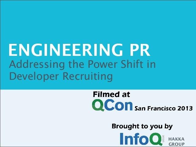 HAKKA GROUP ENGINEERING PR Addressing the Power Shift in Developer Recruiting