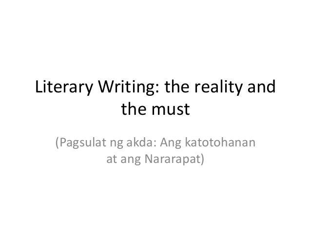 Katotohanan essay writer