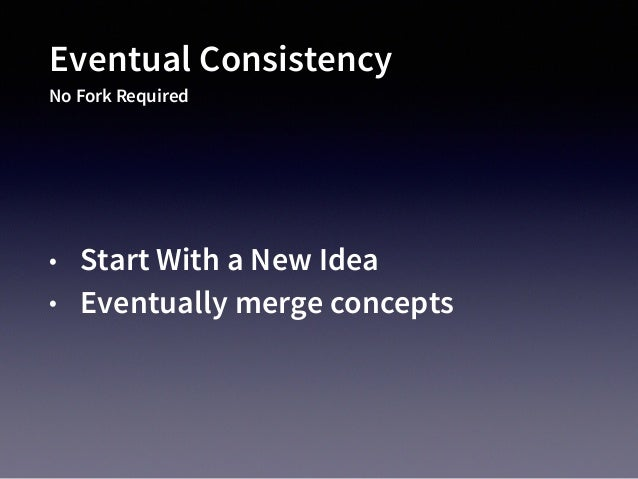 Eventual Consistency Example Mainline Cloud Orchestration 2011