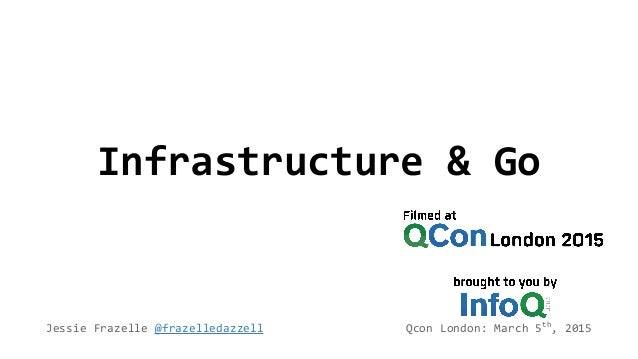 Infrastructure & Go Jessie Frazelle @frazelledazzell Qcon London: March 5th , 2015
