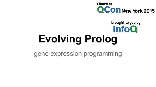 Evolving Prolog gene expression programming
