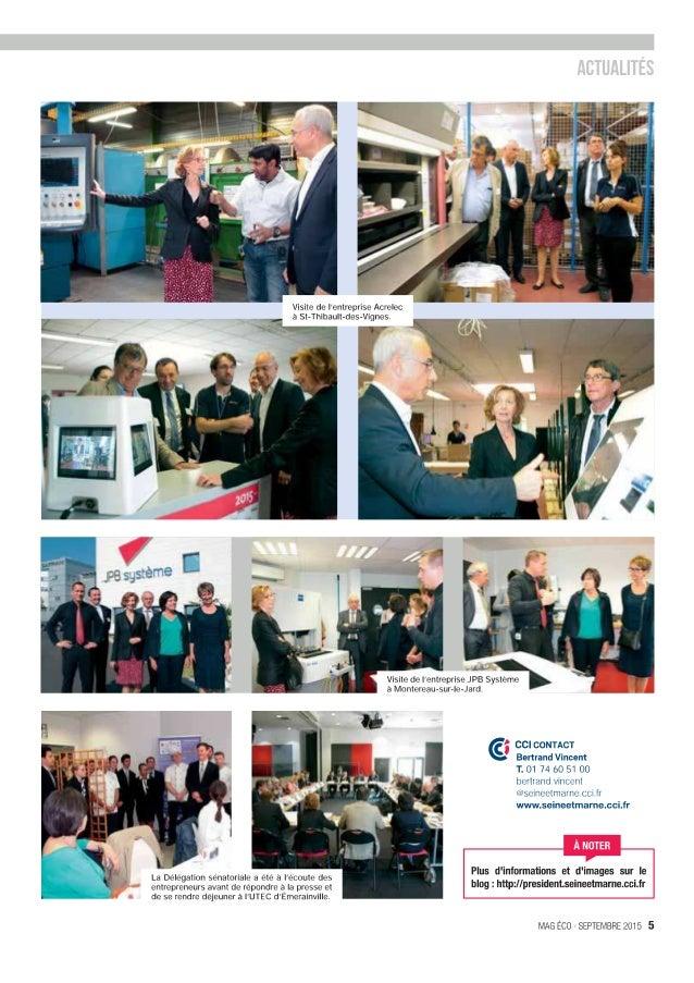 Visite de   'entreprise Acrelec a St-Thibau  t—des—Vignes.  . _ Wm           Visile de   'entreprise JPB Systeme  ' 'a Mon...