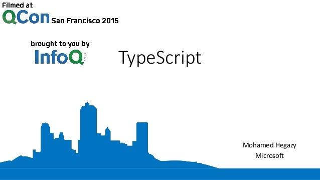 TypeScript Mohamed Hegazy Microsoft