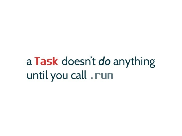 Constructing Tasks