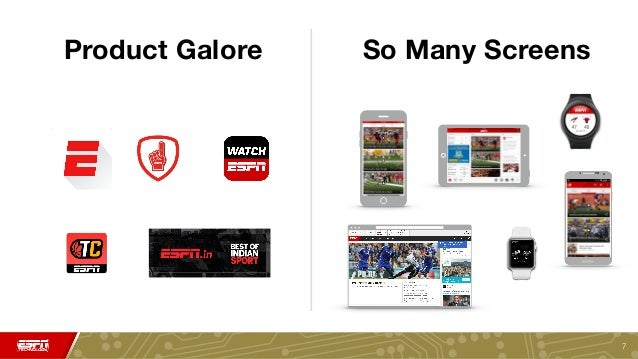 ESPN Next Generation APIs Powering Web, Mobile, TV