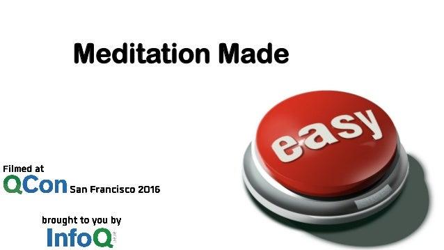 Meditation Made