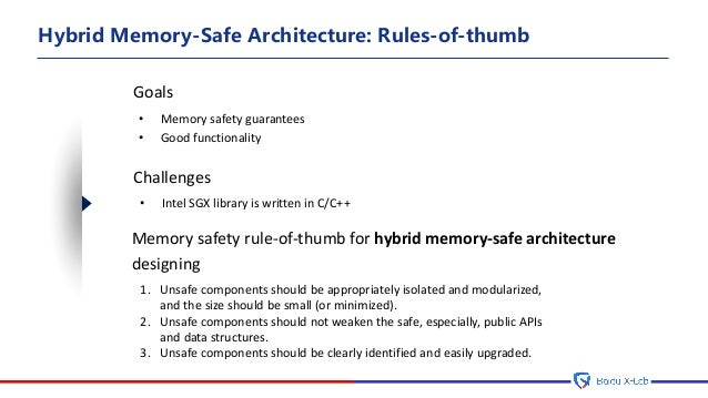 Towards Memory Safety in Intel SGX Enclave