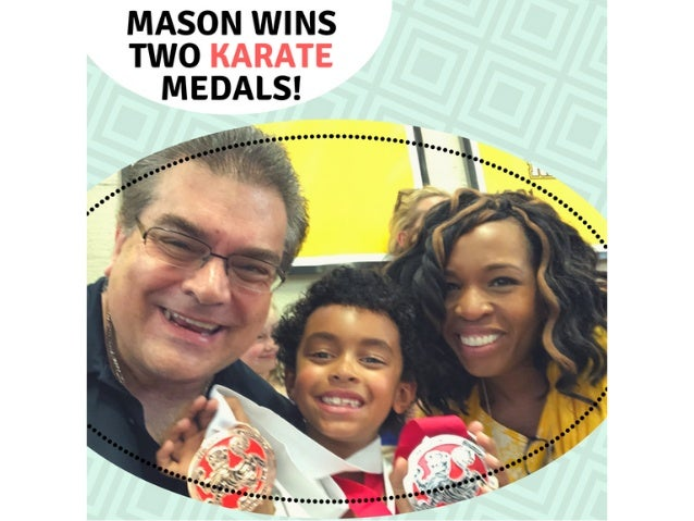 Beyer Family: Mason Wins Two Karate Medals!